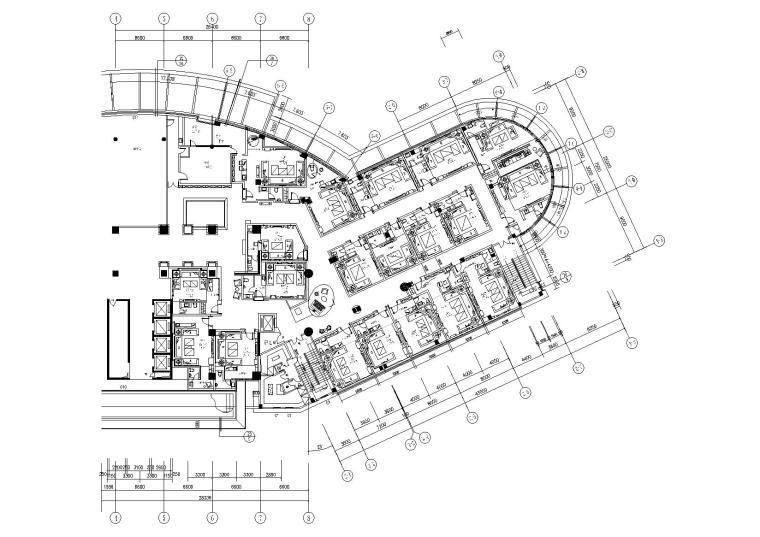 [苏州]某私人会所KTV室内设计施工图+效果图