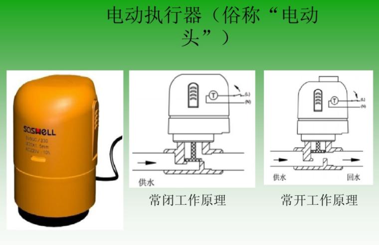 低温热水地板辐射采暖系统知识培训-电动执行器
