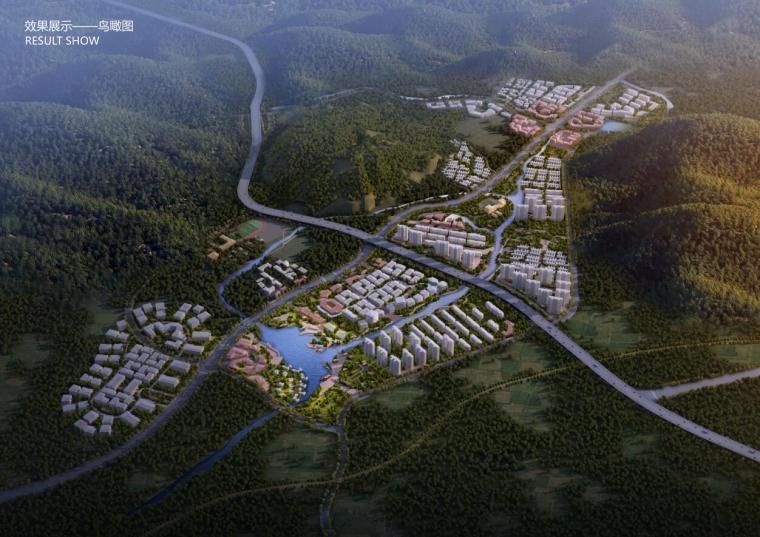 [山东]大连国际健康科技小镇概念总体规划一