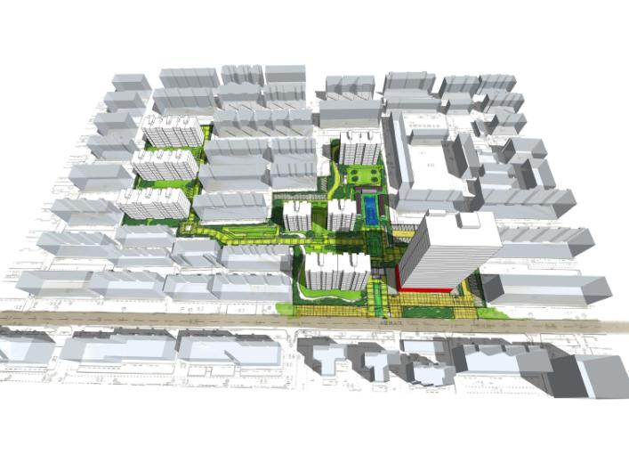 合肥某洋房公寓项目规划方案文本(投标)