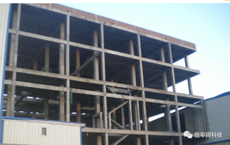 解析框架柱如何用增大截面法加固