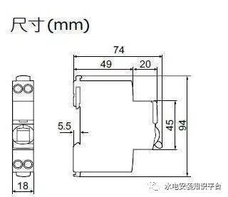 断路器1P、1P+N、2P、3P、4P之间的区别_1