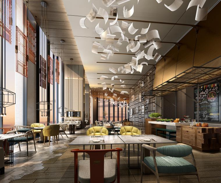 成都领地希尔顿嘉悦里酒店室内设计方案