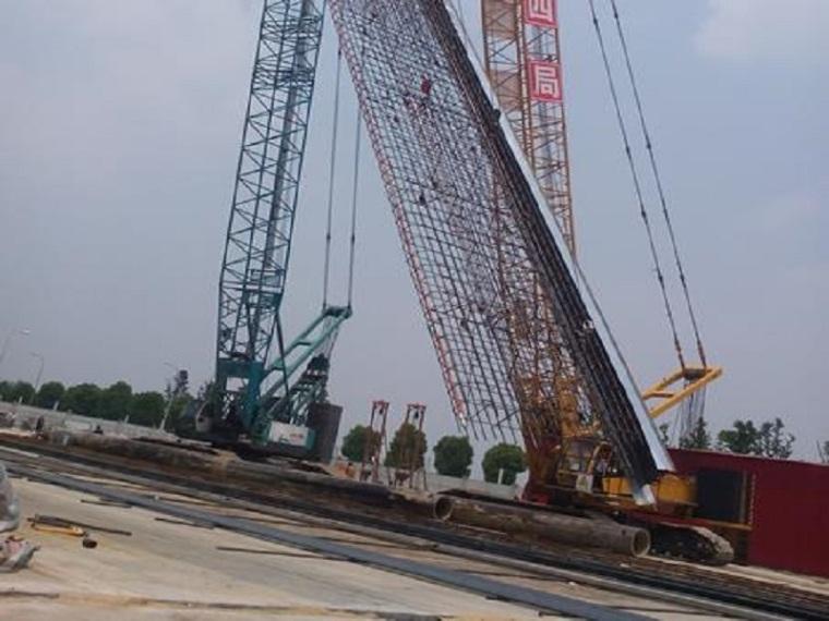 提高地下连续墙钢筋笼吊装合格率QC成果