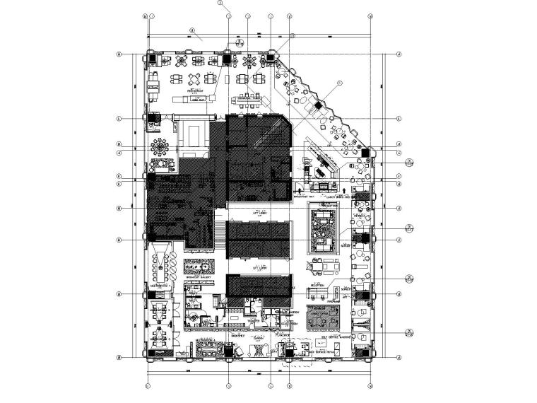 [成都]五星商务希尔顿酒店施工图+官方摄影