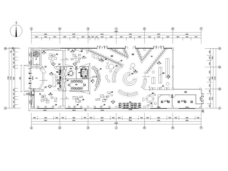 禅意中式玉器展厅CAD施工图+方案PPT