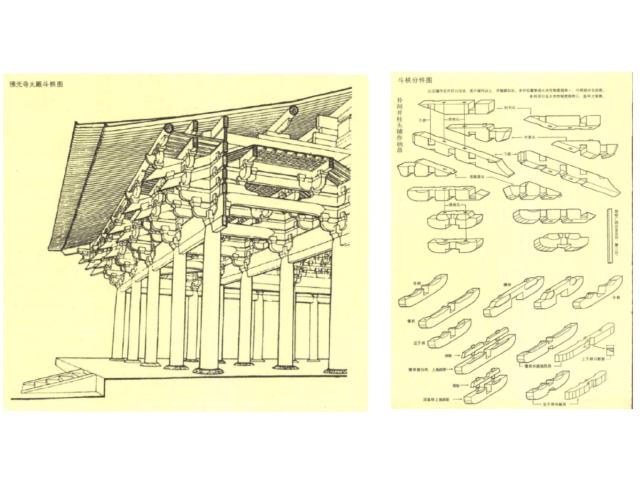 中国古建筑线描图_PDF