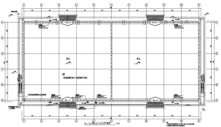 贵州物流仓库及综合办公楼电气施工图