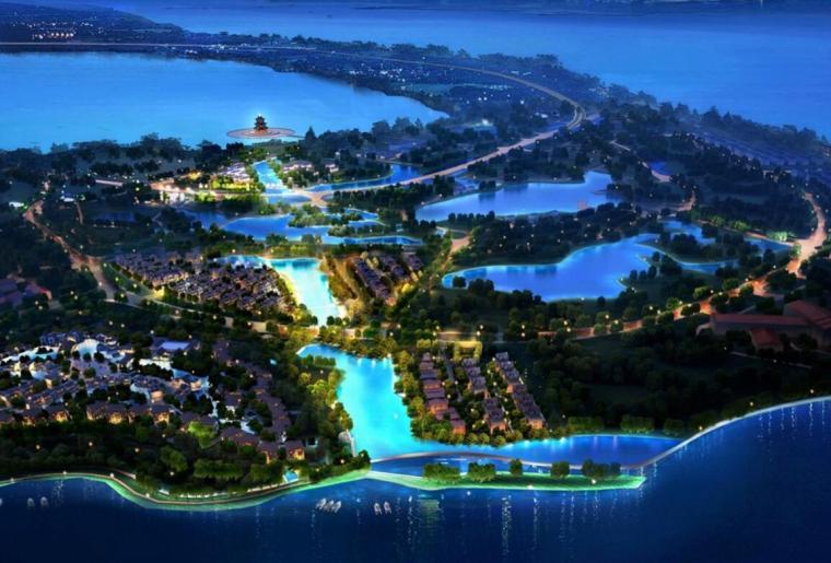 [上海]类旅游小镇别墅度假规划设计_149页