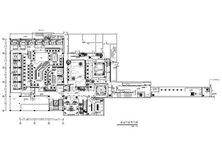 [陕西]西安1+1酒吧装修设计施工图+实景拍摄
