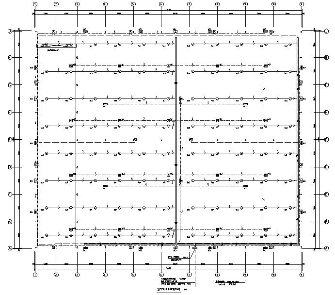 重庆玻璃厂房及配套建筑电气施工图