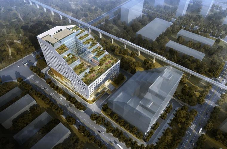 现代风格办公楼建筑设计
