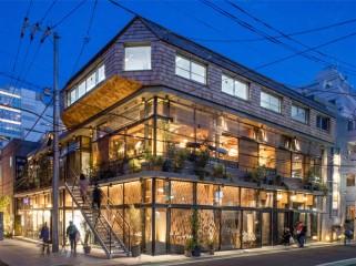 日本柳口寺南角餐厅