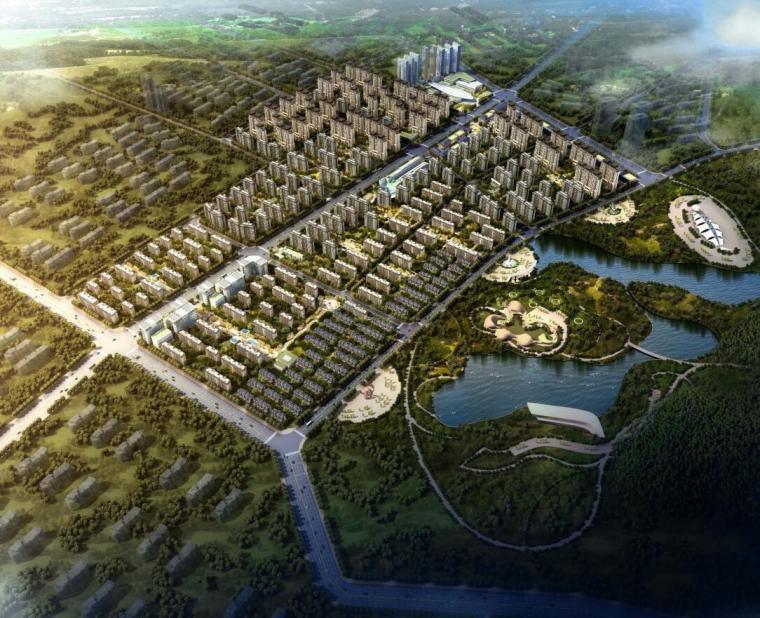 [江苏]幸福小镇建筑概念规划方案文本
