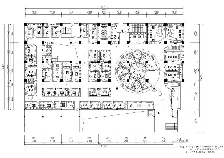 [云南]昆明市百樂匯KTV裝飾設計項目施工圖