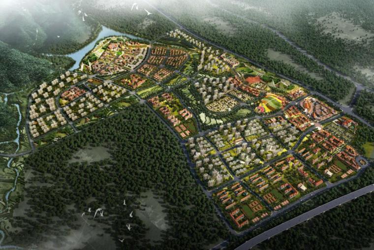 [江西]南昌安南特色产业小镇项目方案文本