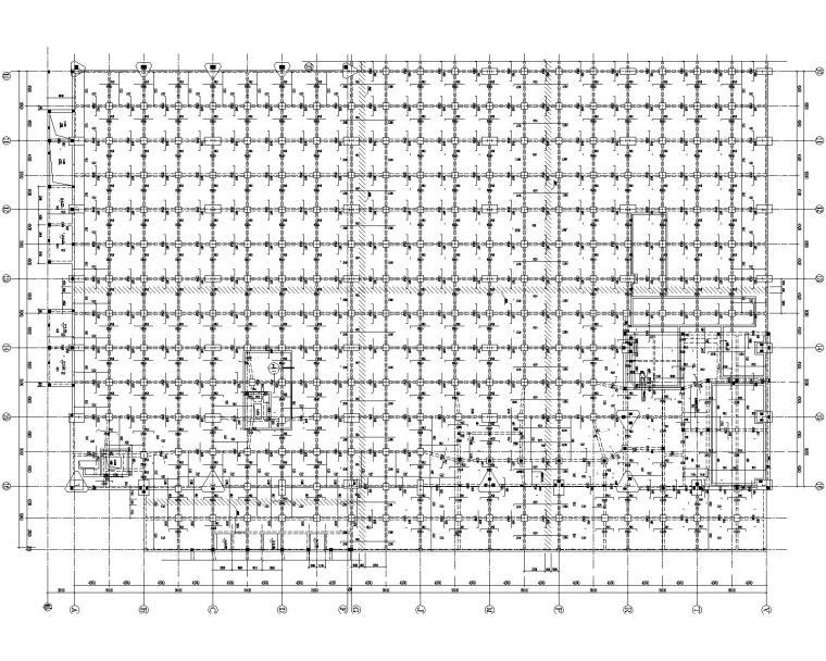 某多跨钢结构厂房结构全套施工图(CAD)