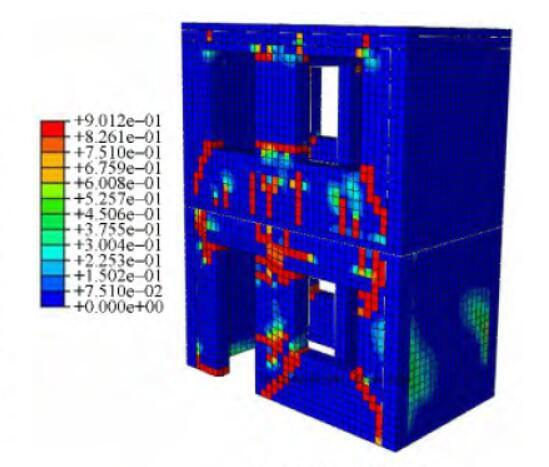 基于ABAQUS的砌体结构动力弹塑性时程分析
