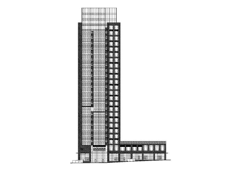 未来方舟D8栋办公楼全套施工图(含标文)