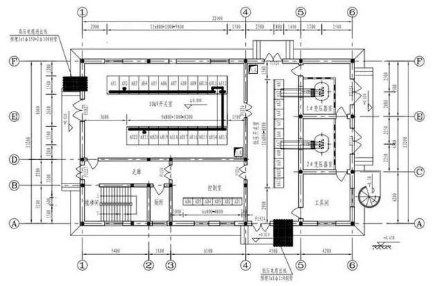 工业电气设计中各配电房如何布置?_1
