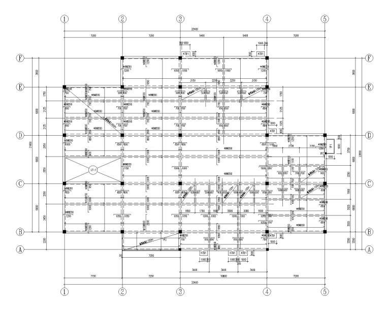3层框架别墅全套施工图(CAD含建筑水暖电)