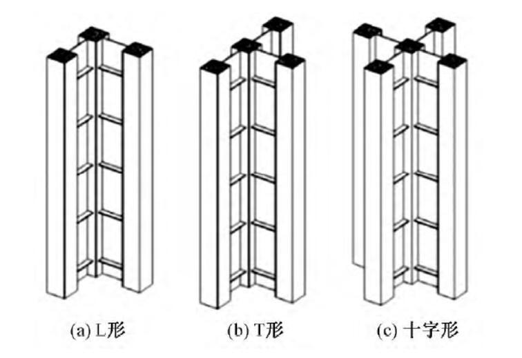 矩形钢管混凝土组合异形柱框架剪力墙结构