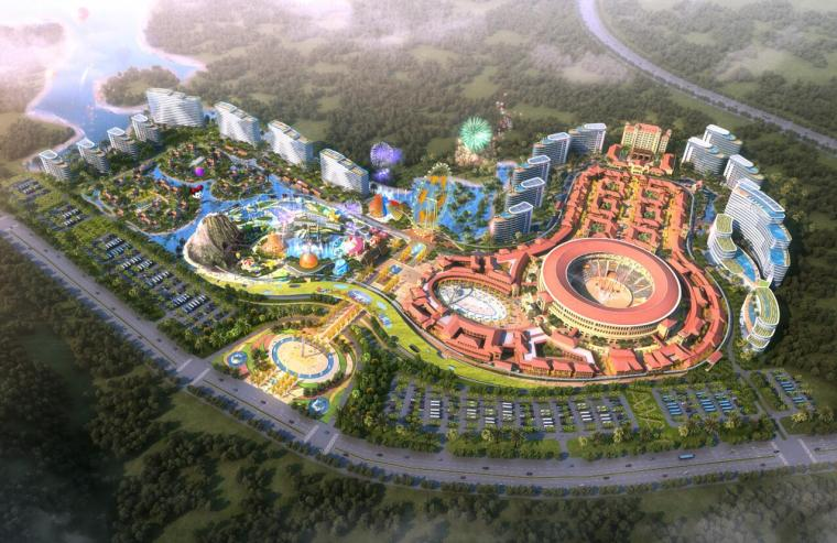 [海南]万宁兴隆亚洲斗牛文化旅游城概念规划