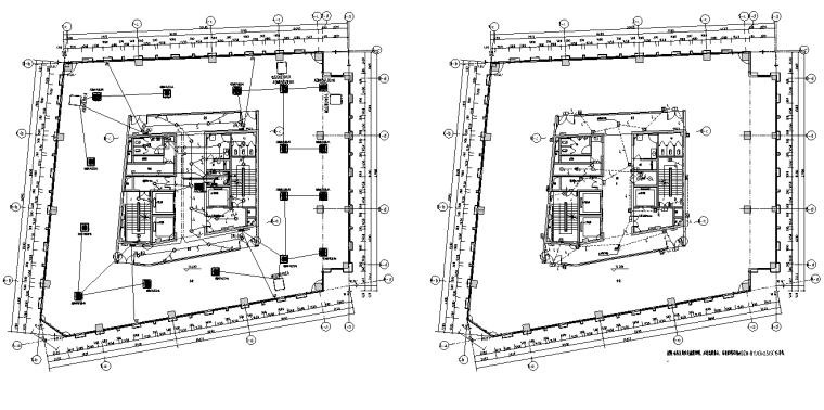 福建厦门高层综合办公楼电气施工图