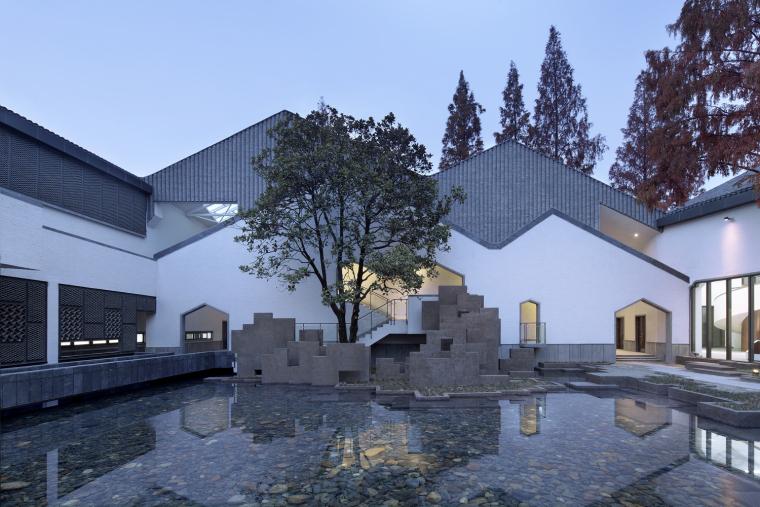 徽派文化博物馆SU模型设计