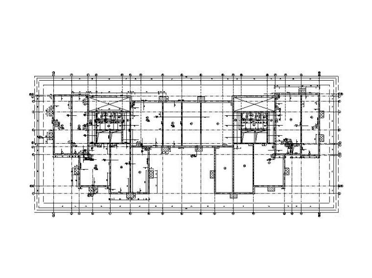 4栋高层政策房剪力墙结构施工图_含地下室