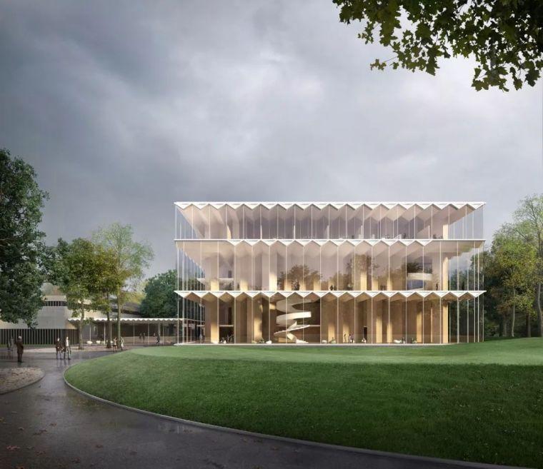 世界上首座预制交叉层压木材的音乐厅