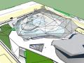 广州歌剧院建筑概念模型设计