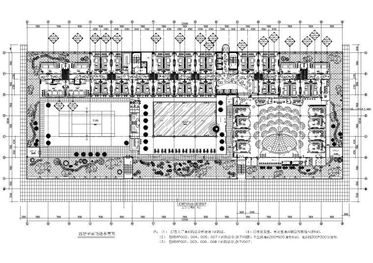 [北京]东方维也纳KTV装饰设计项目施工图
