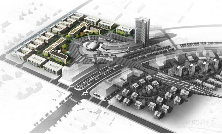 天津高新区国家软件及服务外包产业基地建筑