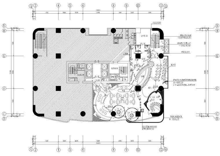 [深圳]太阳岛大厦皇后酒吧装饰设计施工图