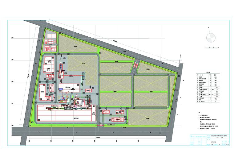 安徽某人造板项目产业基地厂房建筑设计方案