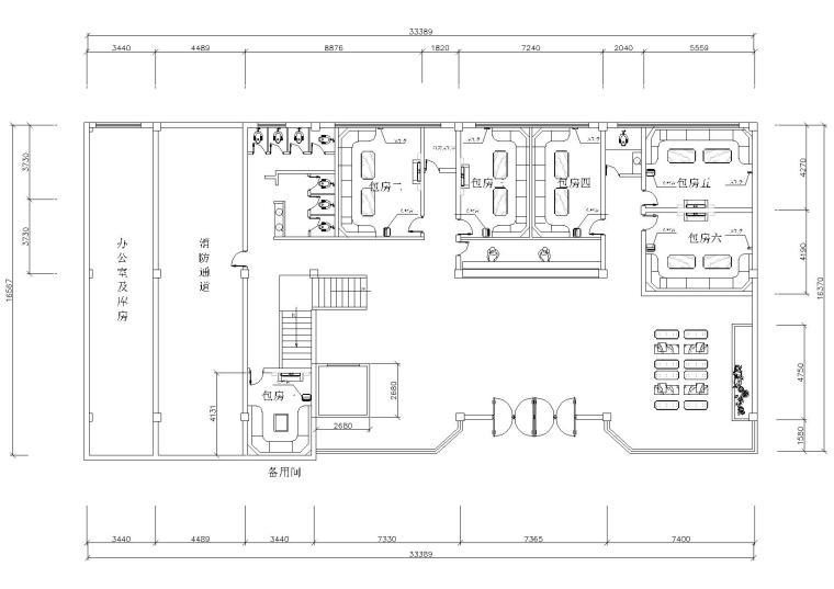 [四川]乐·百度KTV室内装饰设计施工图