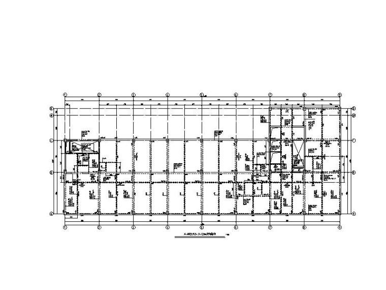 2栋高层+1栋多层办公楼全套建筑结构图2017