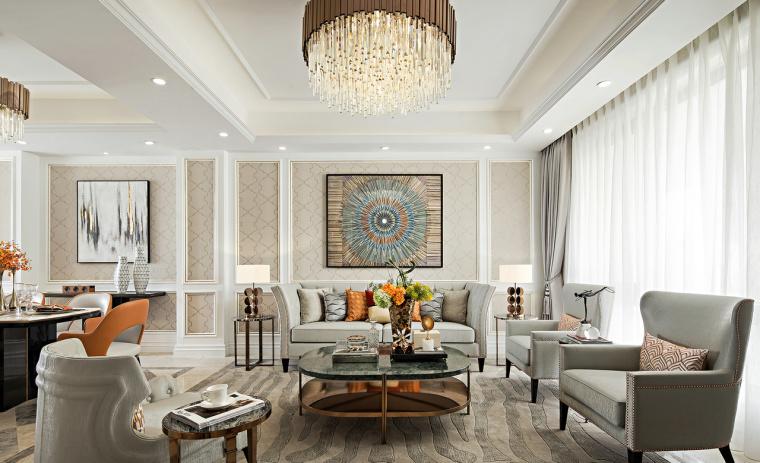 42套美式风格住宅室内空间设计案例合集