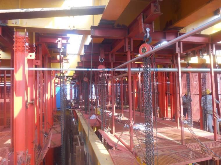 超高层建筑施工期间临时消防施工技术