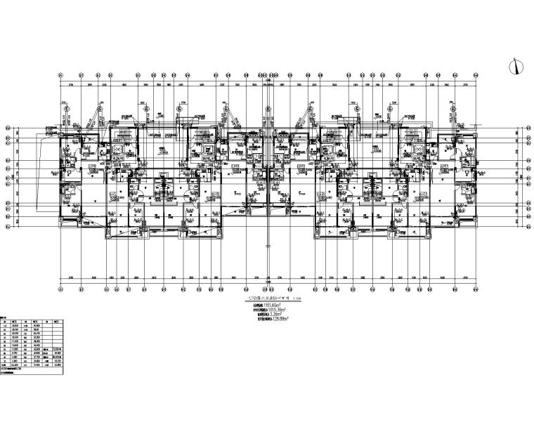 湖南省某房地产开发项目-67#栋给排水施工图