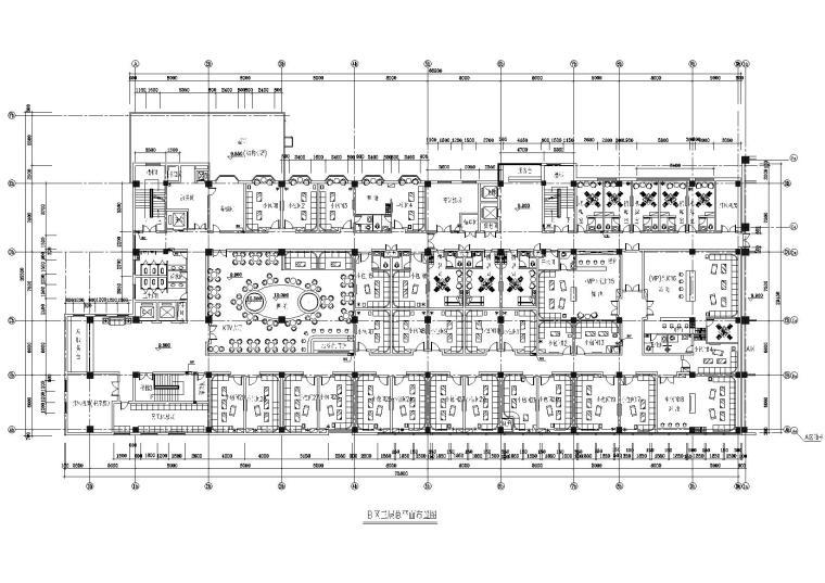 [河北]宣化酒店三层KTV室内装饰项目施工图