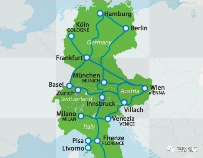 欧洲多国考虑开行跨国夜间列车