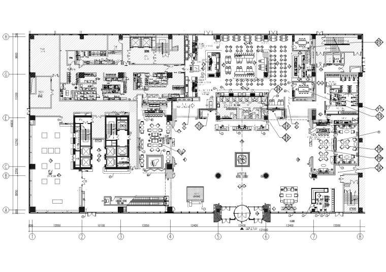 [河北]廊坊希尔顿逸林商务酒店装修施工图