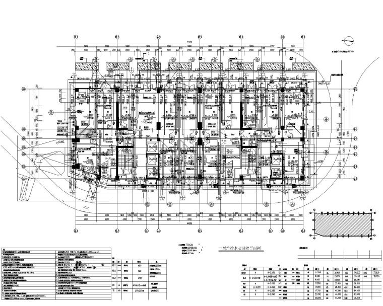 湖南省某房地产开发项目-68#栋给排水施工图