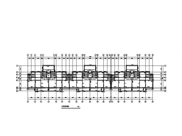 6层剪力墙结构住宅楼结构施工图_桩承台基础