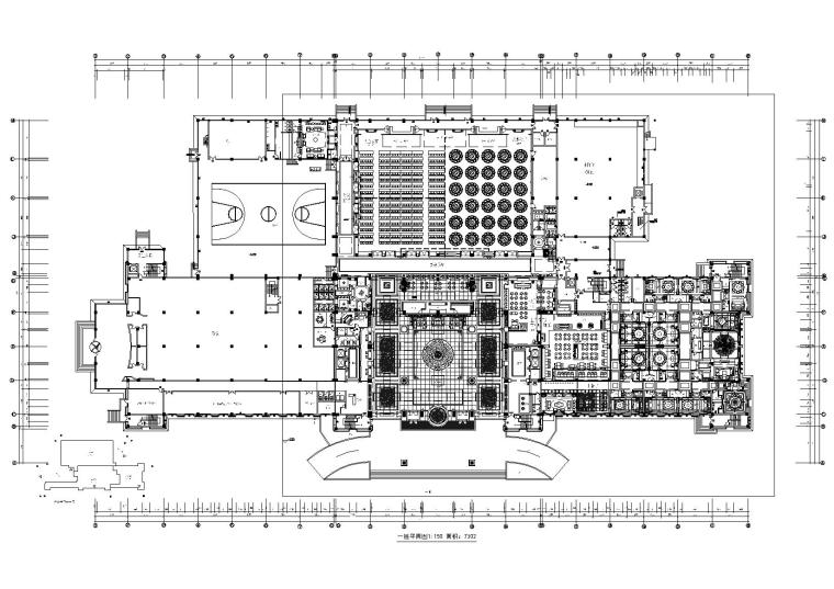 [山东]奢华五星级大酒店室内装饰全套施工图