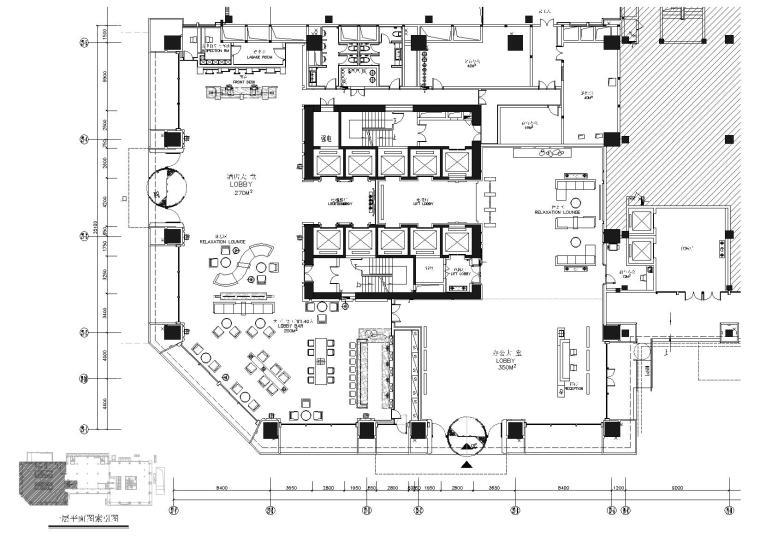 [四川]成都维尔酒店设计方案施工图+效果图