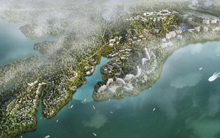 [安徽]黄山太平湖公园概念性整体规划设计
