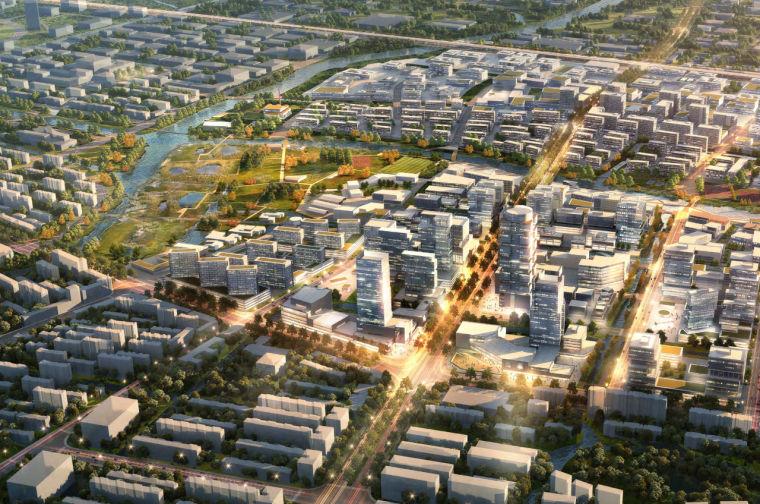 某生态小区规划设计资料下载-[上海]青浦生态河口景观城市设计(滨水)
